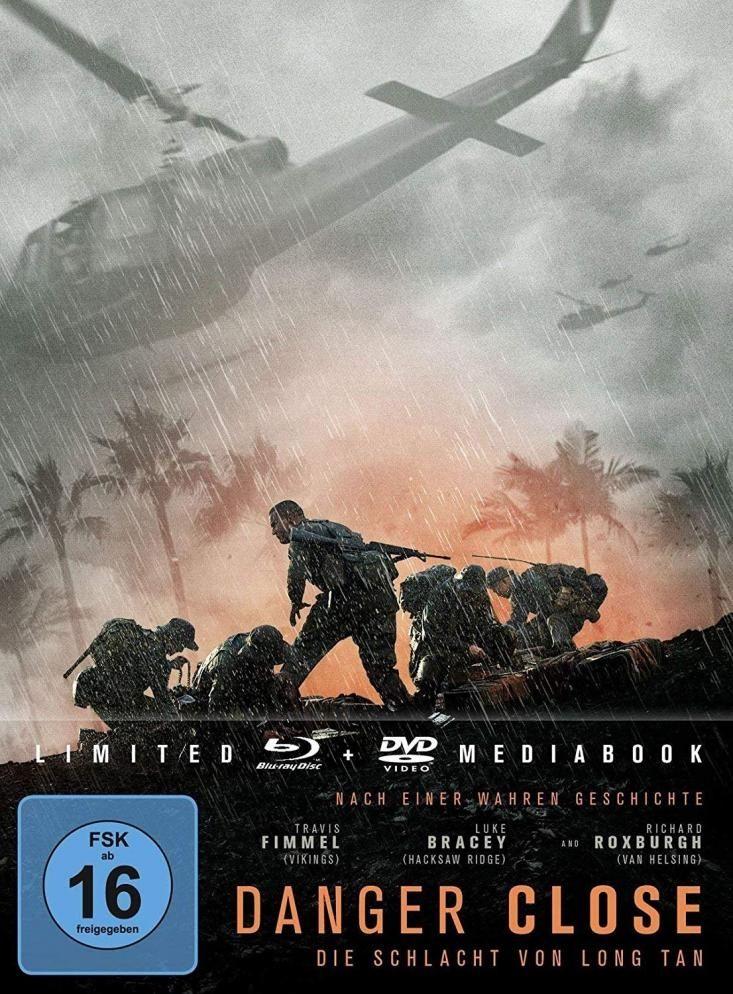 Danger Close - Die Schlacht von Long Tan (Lim. Uncut Mediabook) (DVD + BLURAY)