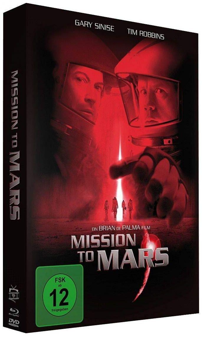 Mission to Mars (Lim. Uncut Mediabook) (2 DVD + BLURAY)