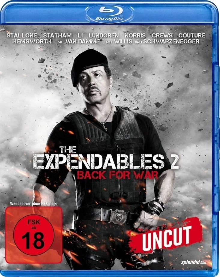 Expendables 2, The (Neuauflage) (Uncut) (BLURAY)