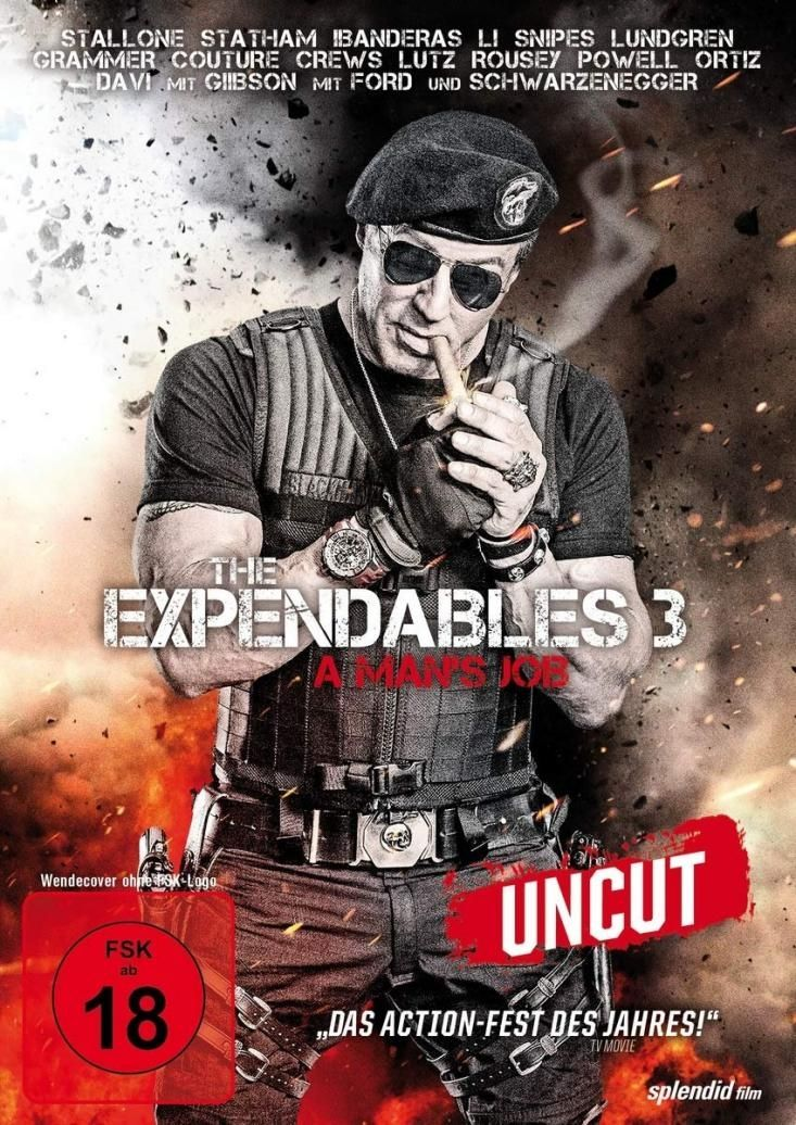Expendables 3, The - A Mans Job (Extended Directors Cut) (Neuauflage)