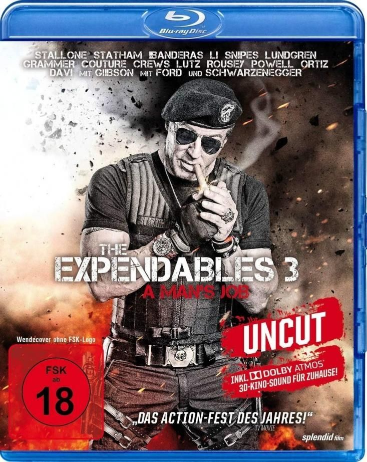 Expendables 3, The - A Mans Job (Extended Directors Cut) (Neuauflage) (BLURAY)