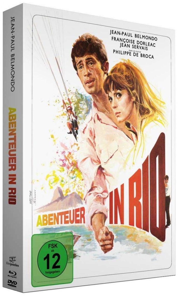 Abenteuer in Rio (Lim. Uncut Mediabook) (DVD + BLURAY)
