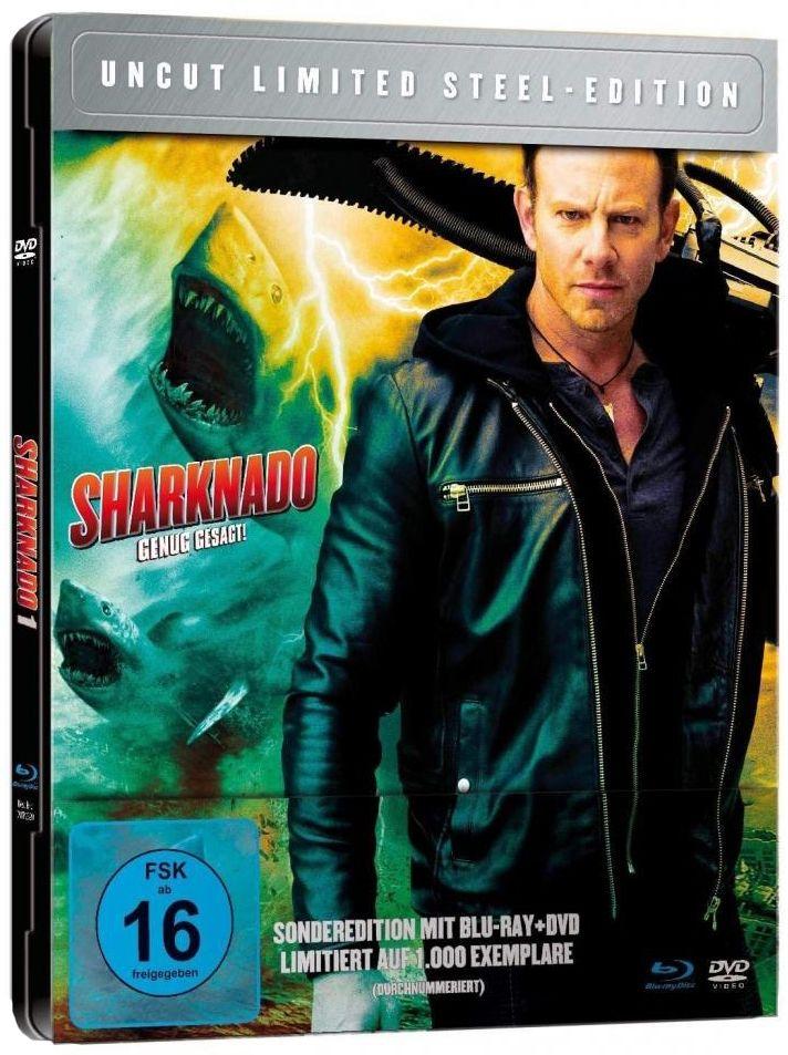 Sharknado 1 - Genug gesagt (Lim. Metalpak) (DVD + BLURAY)