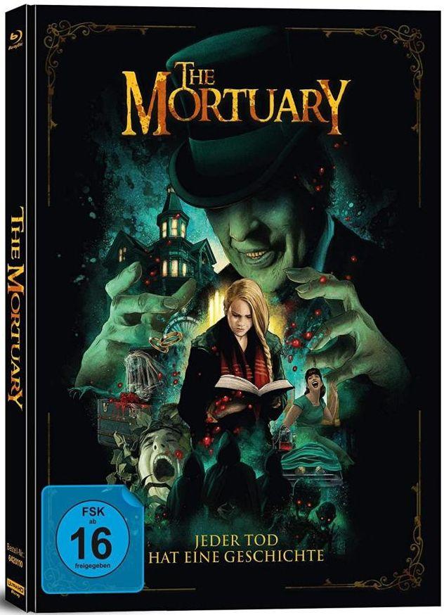Mortuary, The - Jeder Tod hat eine Geschichte (Lim. Uncut Mediabook) (UHD BLURAY + BLURAY)