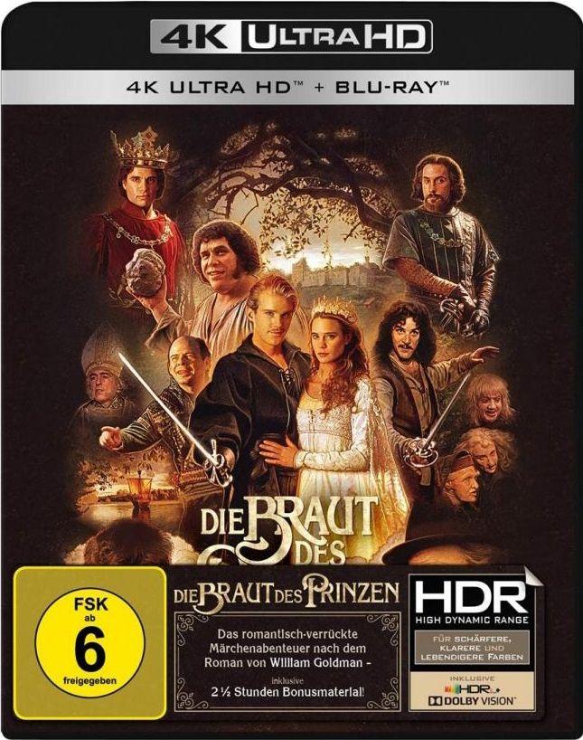 Braut des Prinzen, Die (2 Discs) (UHD BLURAY + BLURAY)