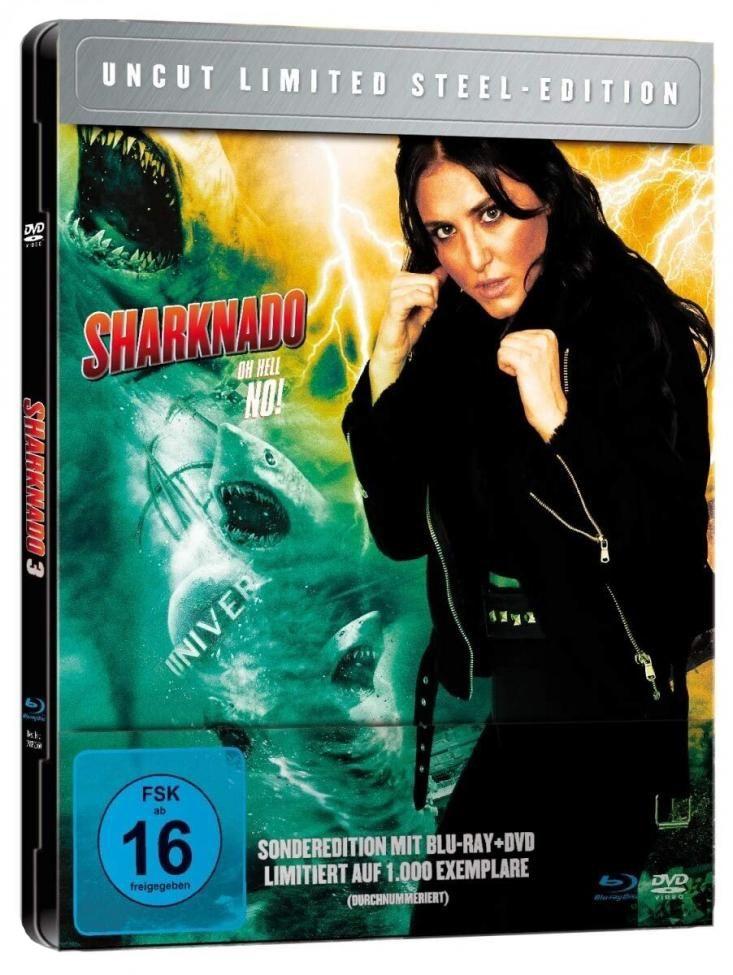 Sharknado 3 - Oh Hell No! (Lim. Metalpak) (DVD + BLURAY)
