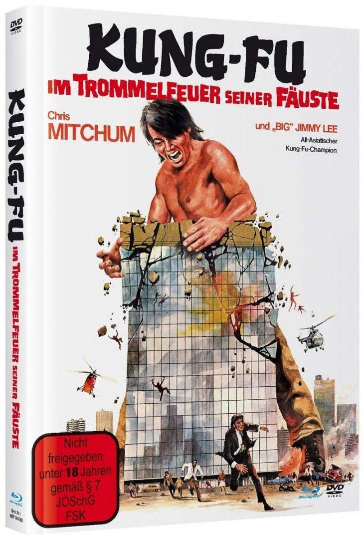 Kung Fu - Im Trommelfeuer seiner Fäuste (Lim. Uncut Mediabook) (DVD + BLURAY)