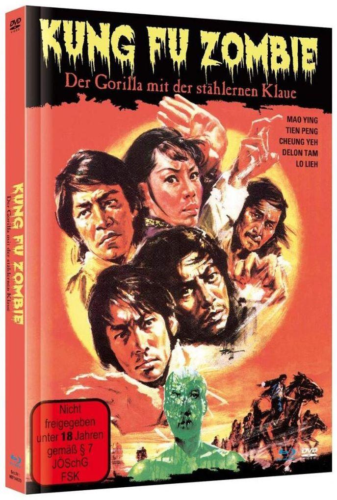 Kung Fu Zombie - Der Gorilla mit der stählernen Klaue (Lim. Uncut Mediabook) (DVD + BLURAY)