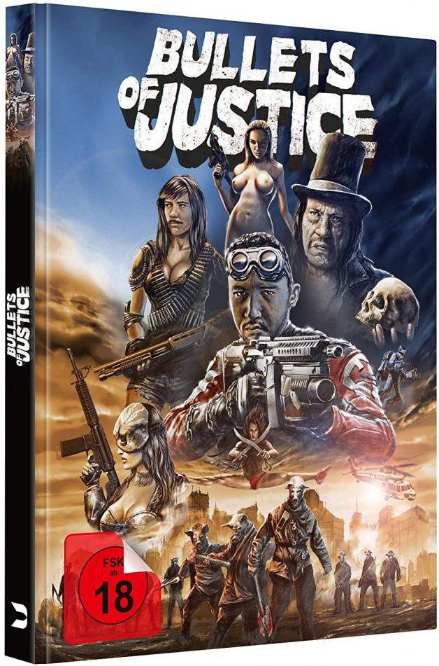 Bullets of Justice (Lim. Uncut Mediabook) (DVD + BLURAY)