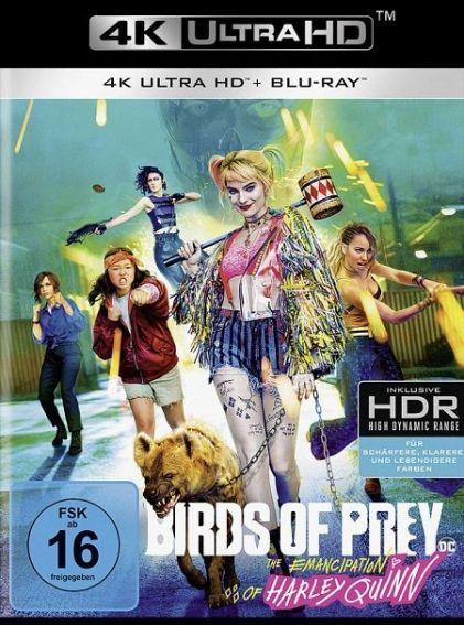 Birds of Prey - The Emancipation of Harley Quinn (2 Discs) (UHD BLURAY + BLURAY)