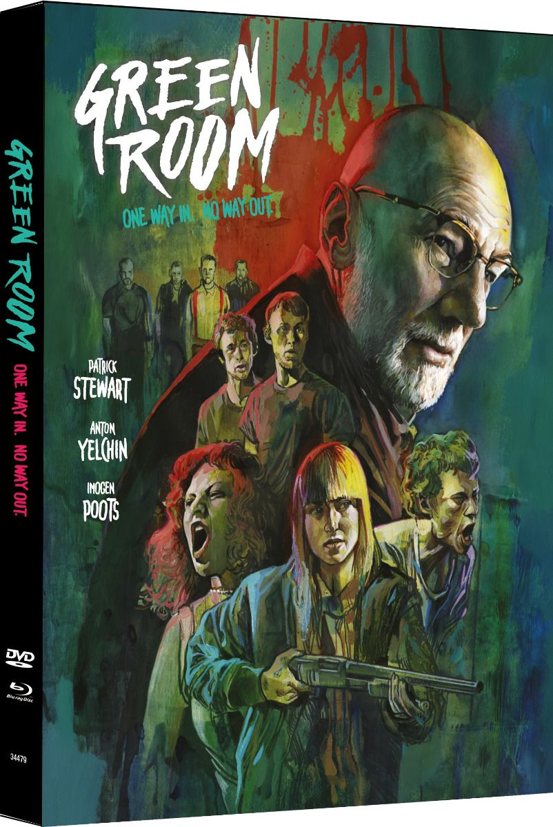 Green Room (Lim. Uncut Mediabook - Cover A) (DVD + BLURAY)