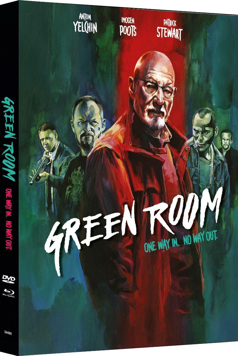 Green Room (Lim. Uncut Mediabook - Cover B) (DVD + BLURAY)