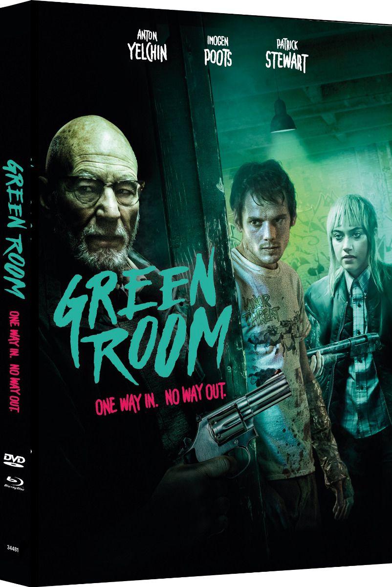 Green Room (Lim. Uncut Mediabook - Cover C) (DVD + BLURAY)