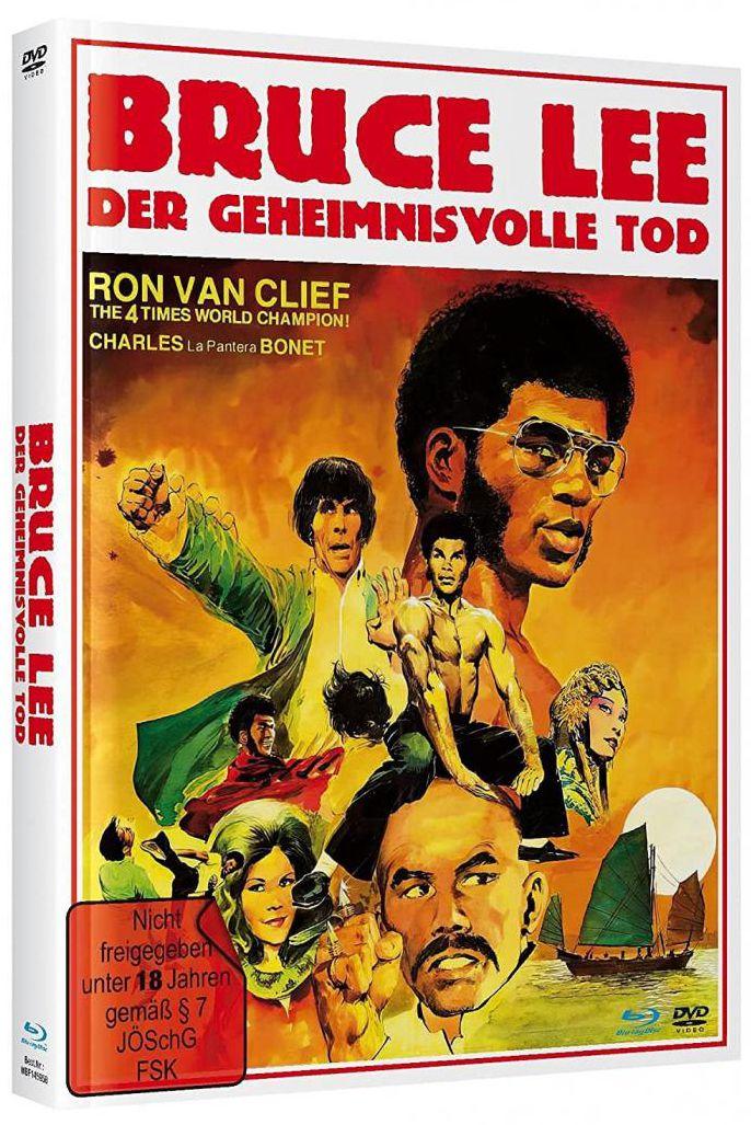 Bruce Lee - Der Geheimnisvolle Tod (Lim. Uncut Mediabook - Cover A) (DVD + BLURAY)