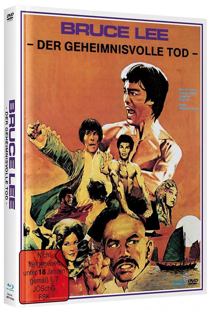 Bruce Lee - Der Geheimnisvolle Tod (Lim. Uncut Mediabook - Cover B) (DVD + BLURAY)