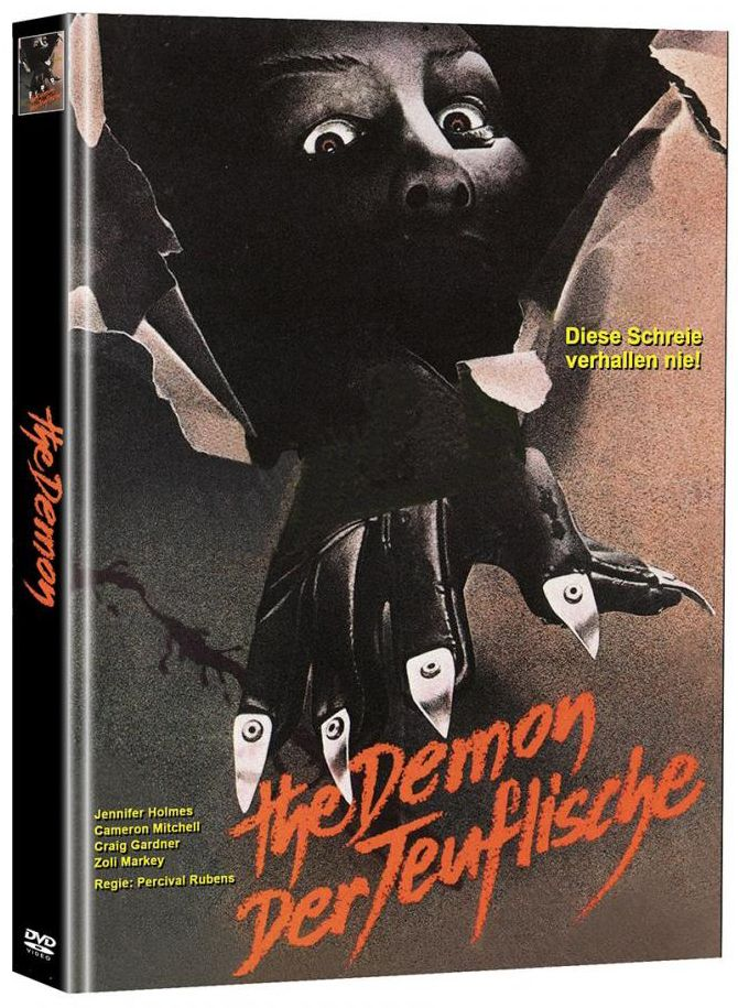 Demon, The - Der Teuflische (Lim. Uncut Mediabook - Cover A) (2 Discs)