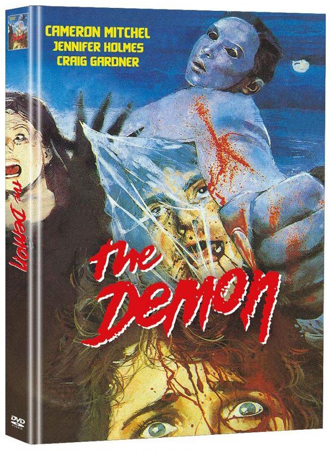 Demon, The - Der Teuflische (Lim. Uncut Mediabook - Cover B) (2 Discs)
