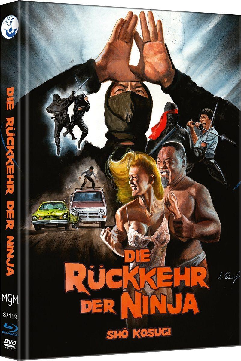 Rückkehr der Ninja, Die (Lim. Uncut Mediabook - Cover A) (DVD + BLURAY)