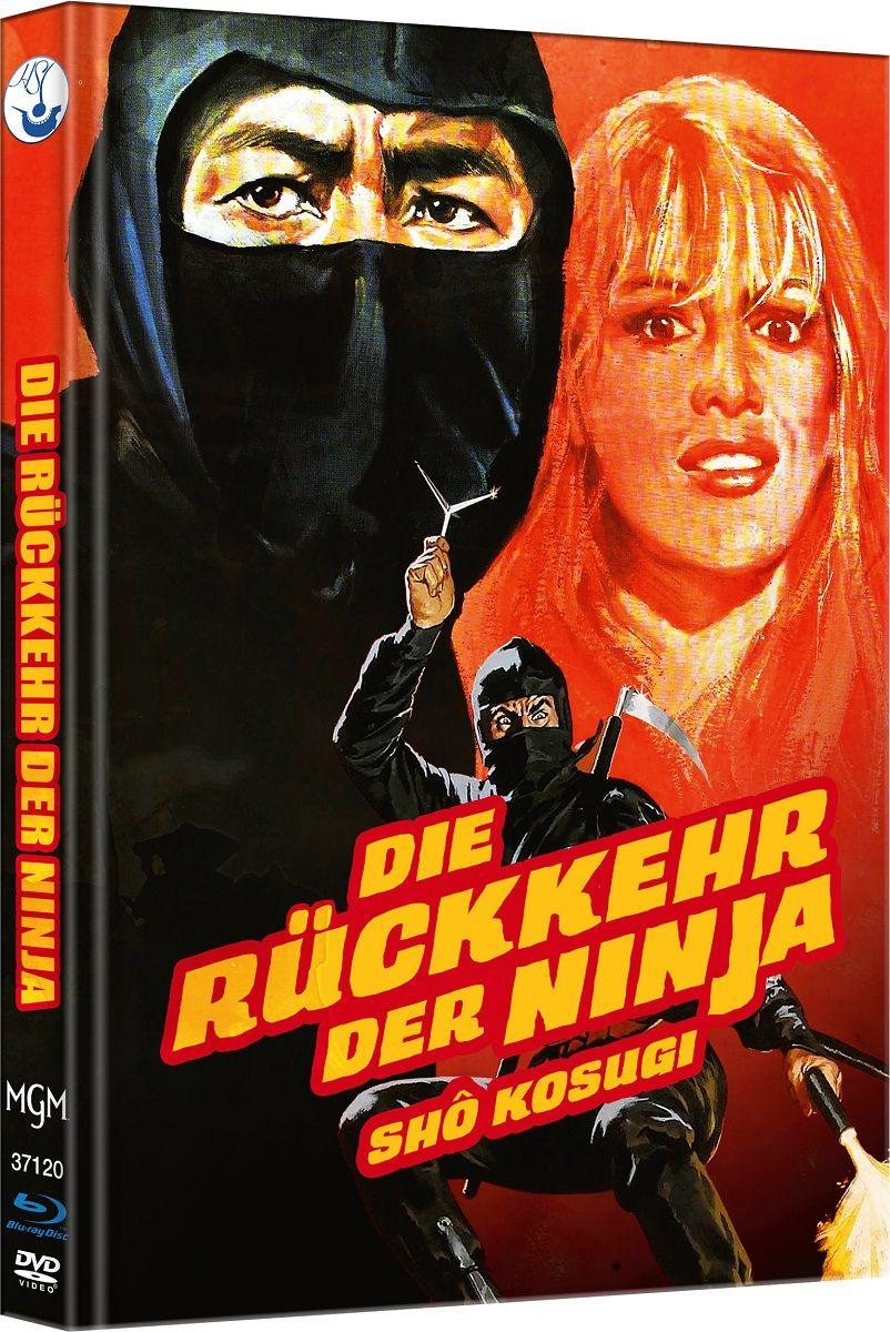 Rückkehr der Ninja, Die (Lim. Uncut Mediabook - Cover B) (DVD + BLURAY)