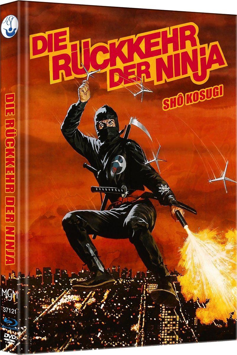 Rückkehr der Ninja, Die (Lim. Uncut Mediabook - Cover C) (DVD + BLURAY)