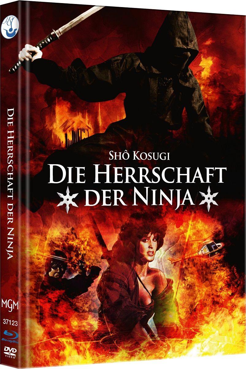 Herrschaft der Ninja, Die (Lim. Uncut Mediabook - Cover B) (DVD + BLURAY)