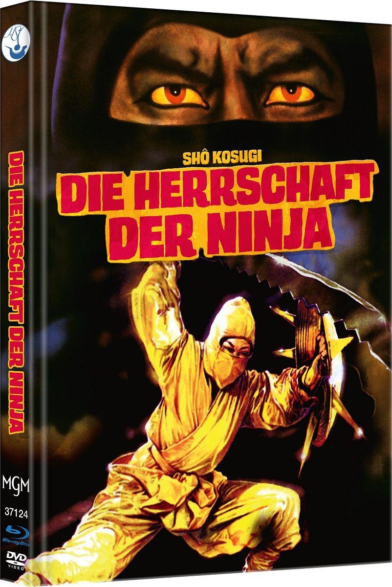 Herrschaft der Ninja, Die (Lim. Uncut Mediabook - Cover C) (DVD + BLURAY)