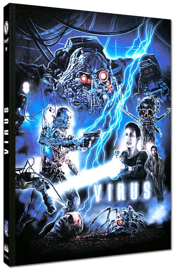Virus (Lim. Uncut Mediabook - Cover A) (DVD + BLURAY)