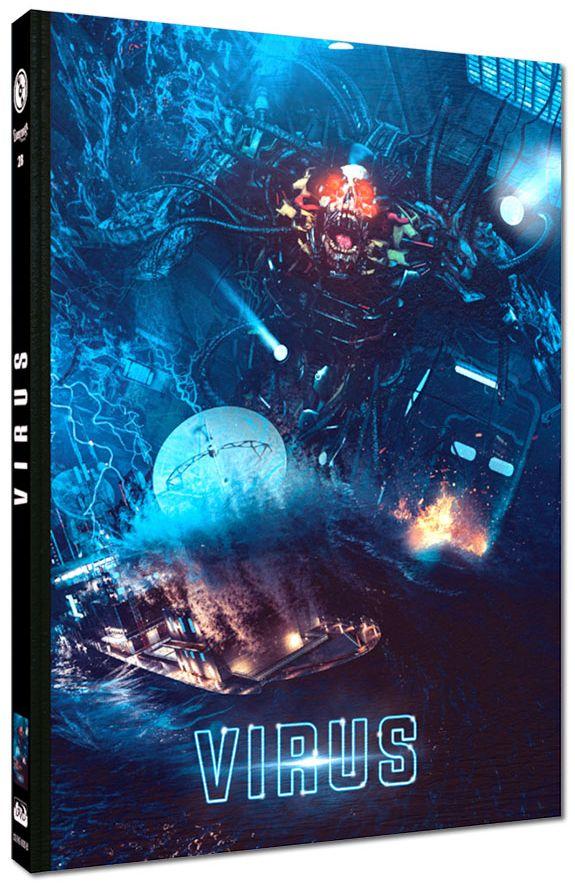 Virus (Lim. Uncut Mediabook - Cover B) (DVD + BLURAY)