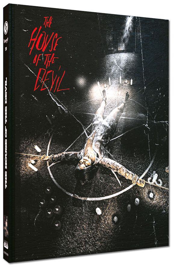 House of the Devil, The (Lim. Uncut Mediabook - Cover B) (DVD + BLURAY)