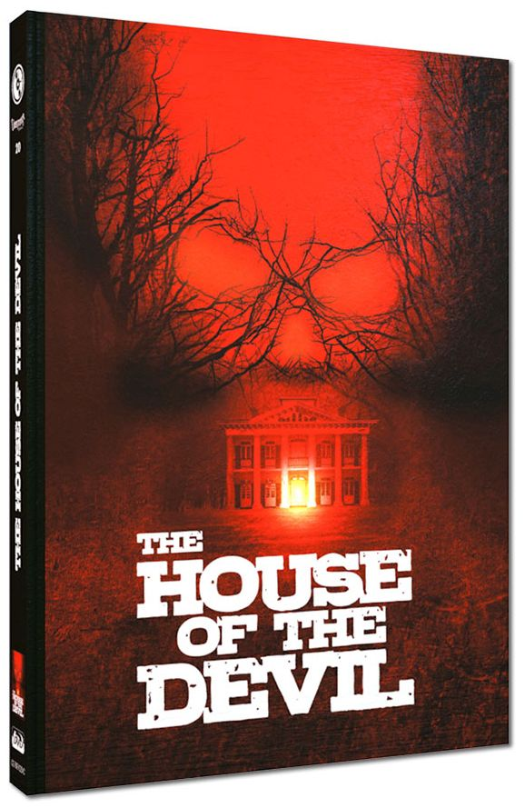 House of the Devil, The (Lim. Uncut Mediabook - Cover C) (DVD + BLURAY)