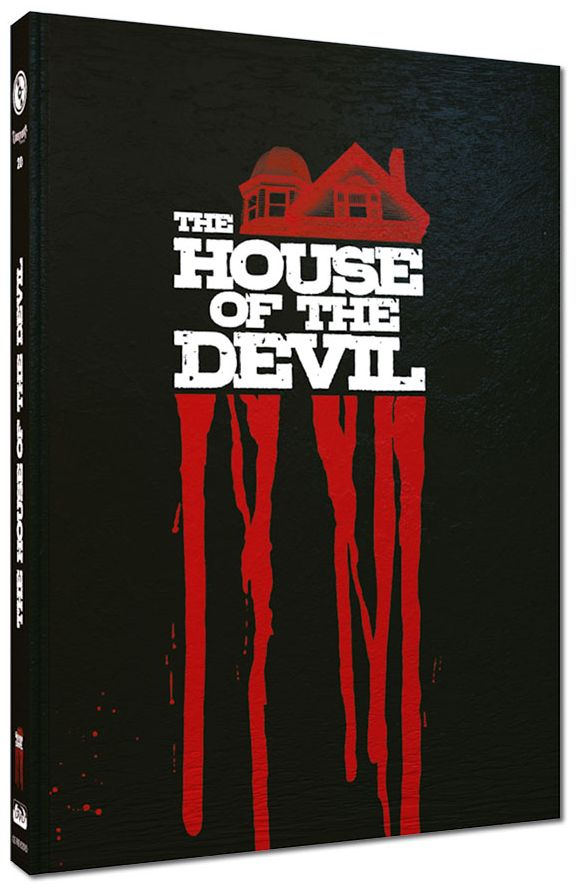 House of the Devil, The (Lim. Uncut Mediabook - Cover D) (DVD + BLURAY)