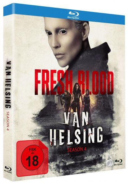 Van Helsing - Staffel 4 (4 Discs) (BLURAY)