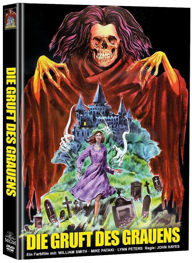 Gruft des Grauens, Die (Lim. Uncut Mediabook - Cover A) (2 Discs)