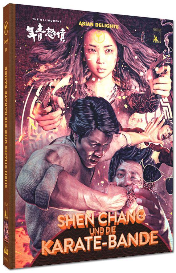 Shen Chang und die Karate-Bande (Lim. Uncut wattiertes Mediabook - Cover A) (DVD + BLURAY)