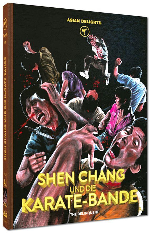 Shen Chang und die Karate-Bande (Lim. Uncut Mediabook - Cover C) (DVD + BLURAY)
