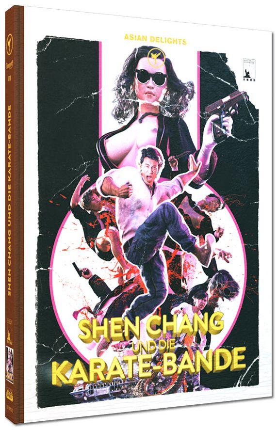 Shen Chang und die Karate-Bande (Lim. Uncut Mediabook - Cover E) (DVD + BLURAY)