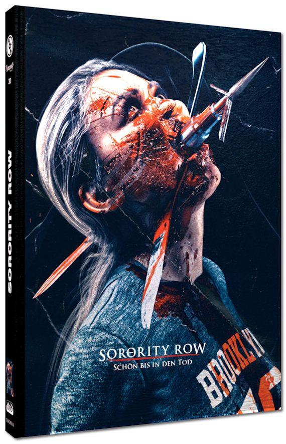 Sorority Row - Schön bis in den Tod (Lim. Uncut wattiertes Mediabook - Cover A) (DVD + BLURAY)