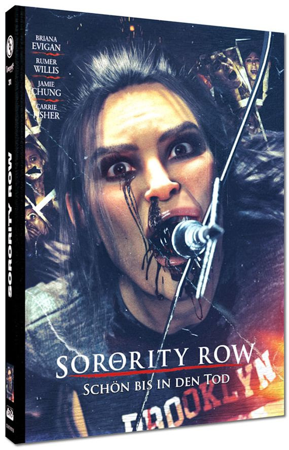 Sorority Row - Schön bis in den Tod (Lim. Uncut Mediabook - Cover B) (DVD + BLURAY)