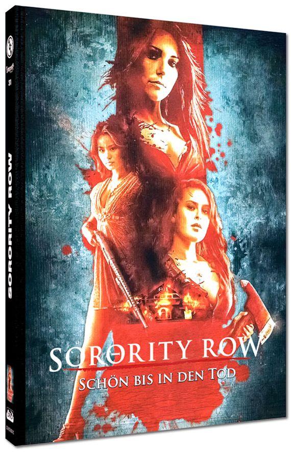Sorority Row - Schön bis in den Tod (Lim. Uncut Mediabook - Cover C) (DVD + BLURAY)