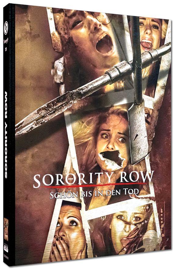 Sorority Row - Schön bis in den Tod (Lim. Uncut Mediabook - Cover D) (DVD + BLURAY)
