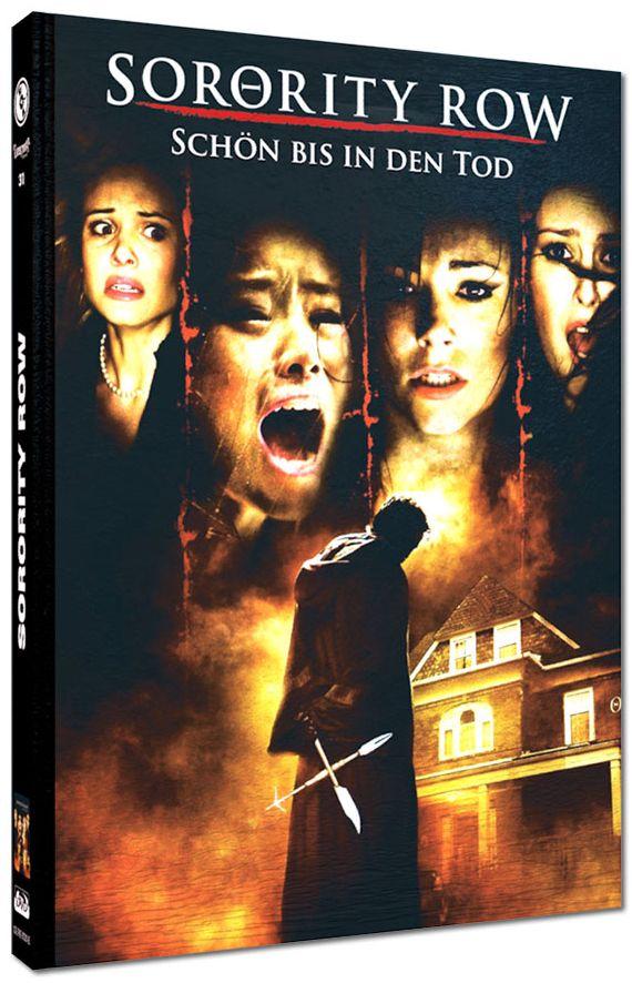 Sorority Row - Schön bis in den Tod (Lim. Uncut Mediabook - Cover E) (DVD + BLURAY)