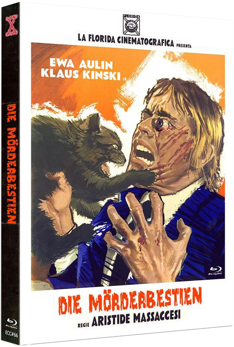 Mörderbestien, Die (Lim. Uncut Mediabook - Cover A) (DVD + BLURAY)
