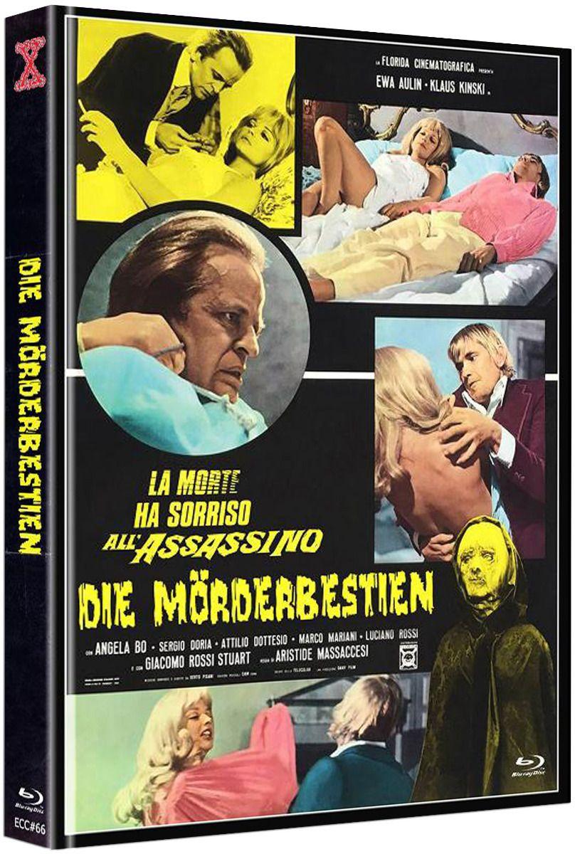 Mörderbestien, Die (Lim. Uncut Mediabook - Cover B) (DVD + BLURAY)