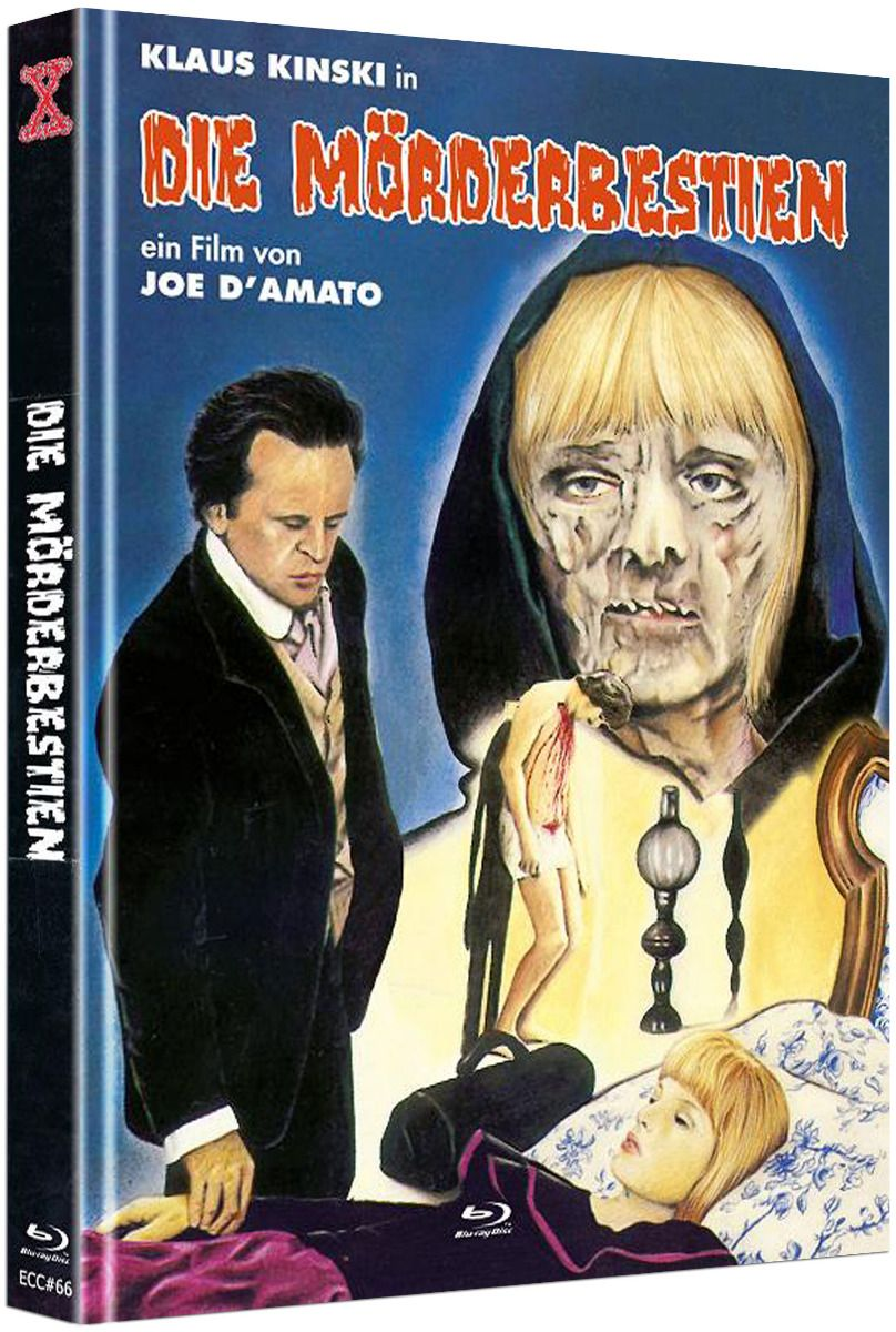 Mörderbestien, Die (Lim. Uncut Mediabook - Cover C) (DVD + BLURAY)