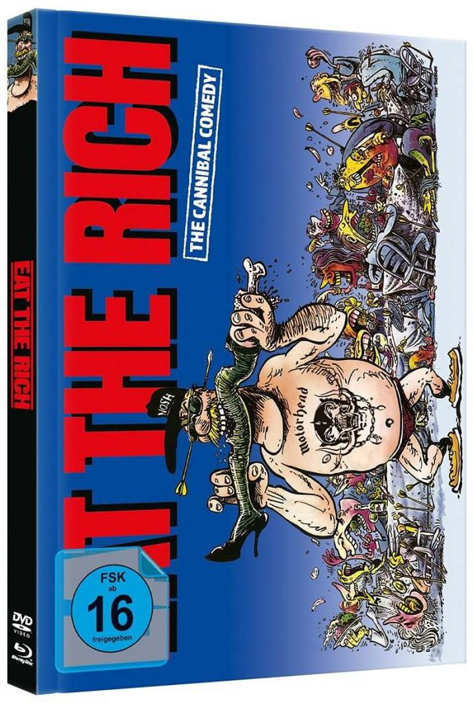 Eat the Rich (Lim. Uncut Mediabook - Cover A) (DVD + BLURAY)