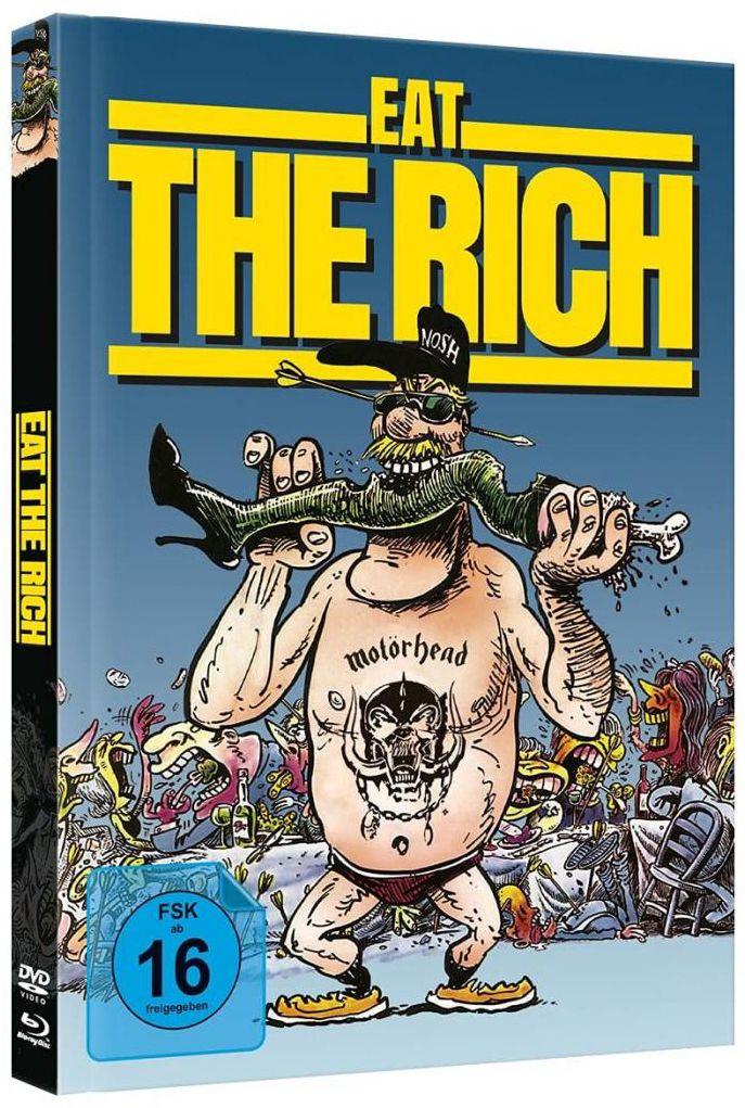 Eat the Rich (Lim. Uncut Mediabook - Cover B) (DVD + BLURAY)