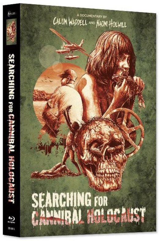 Searching for Cannibal Holocaust (Lim. Uncut wattiertes Mediabook) (DVD + BLURAY)