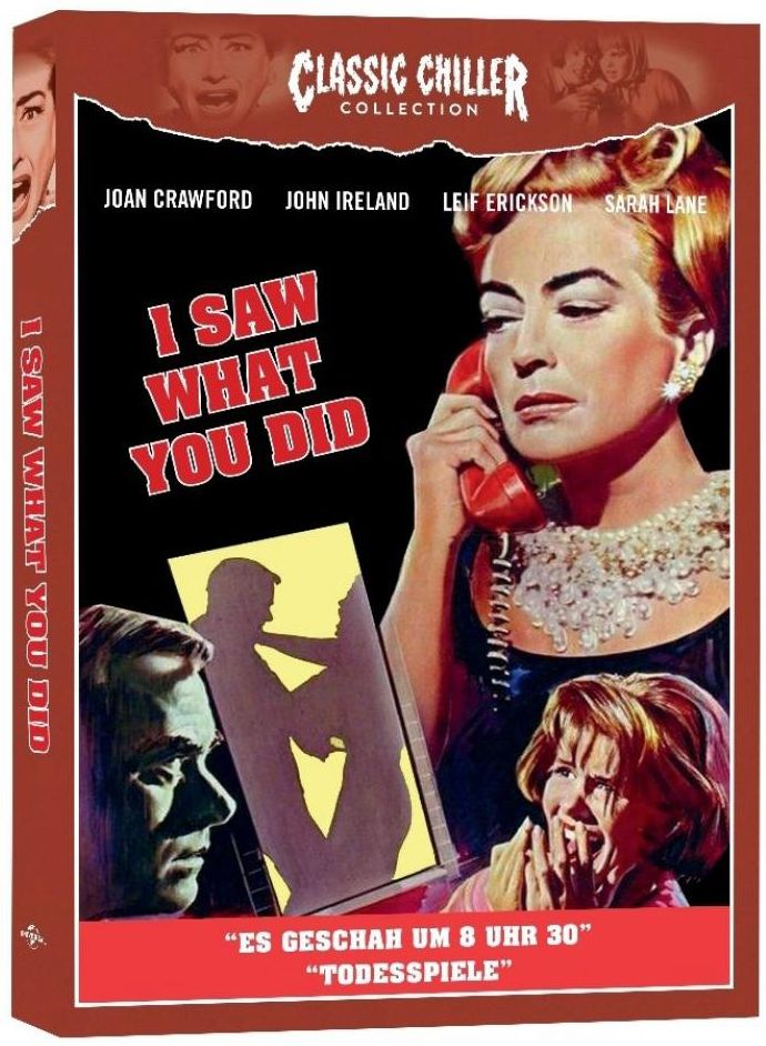 I Saw What You Did (Classic Chiller Collection) (BLURAY)