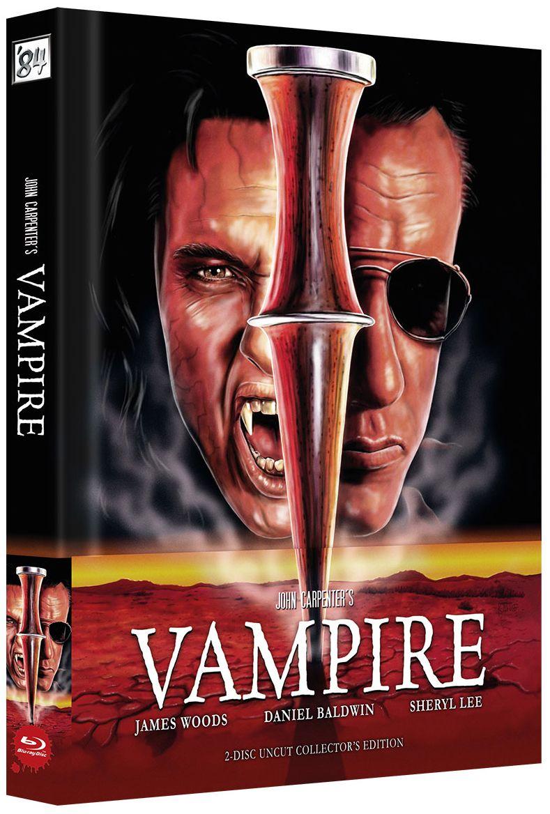 John Carpenters Vampire (Lim. Uncut wattiertes Mediabook - Cover A) (DVD + BLURAY)