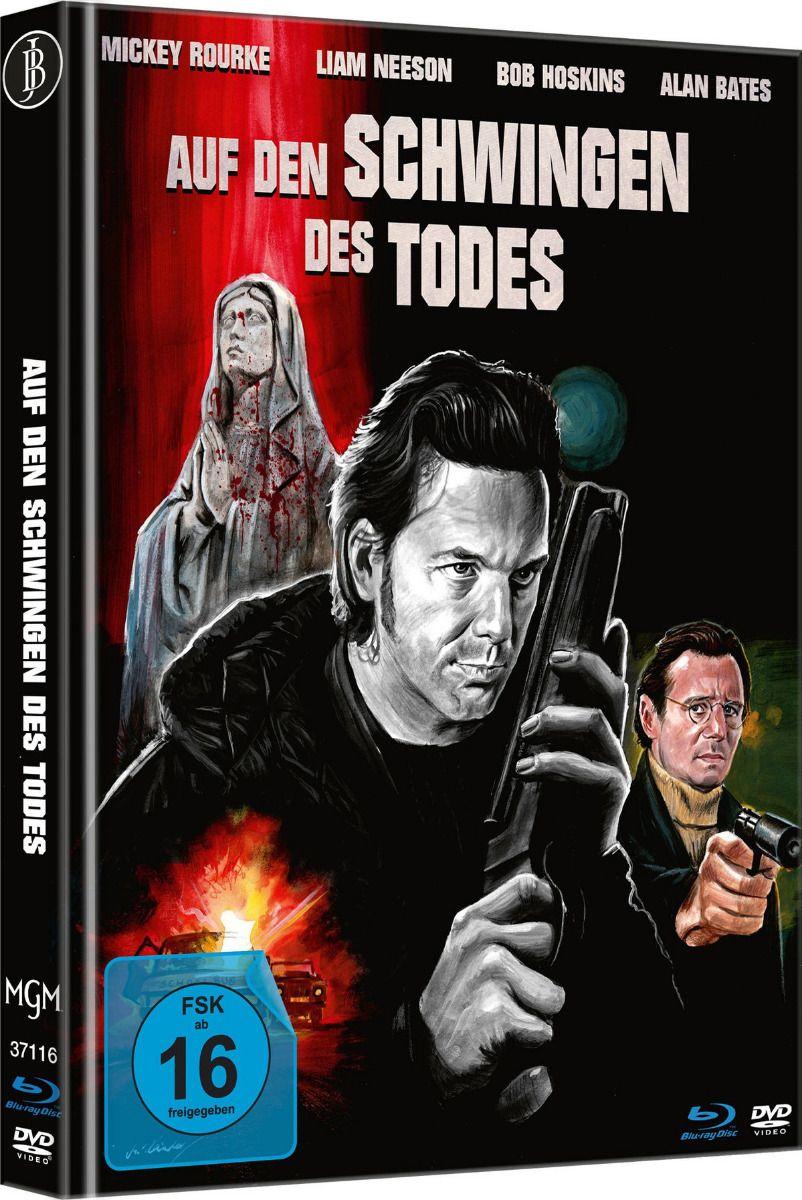 Auf den Schwingen des Todes (Lim. Uncut Mediabook - Cover A) (DVD + BLURAY)